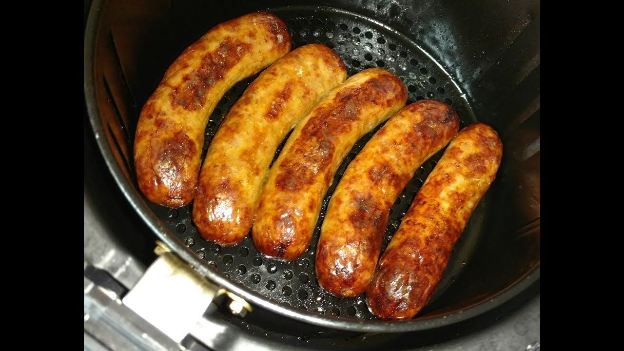 Air Fryer Sausages! YouTube Sausage, Cooking, Food recipes