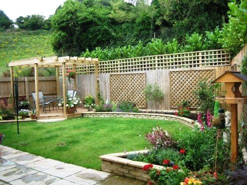 disenos de jardines diseño-de-jardines Jardines Pinterest