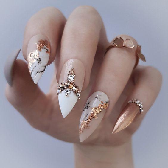 Photo of 2020 Trendy Stiletto Nails Art –  Nägel, Acrylnägel, Nagelkunst, Nagelkunstzus…