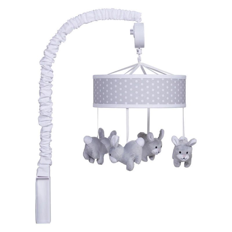 Trend Lab Gray Bunny Musical Mobile Buy Direct From Toys R Us Mobile Musical Bunny Gray Trend Trend Lab Musical Crib Mobile Musical Mobile