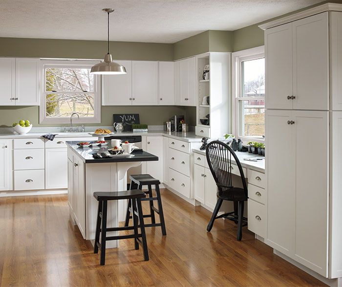 Black With White Wash Kitchen Cabinets: This Is What We Picked! These White Shaker Kitchen