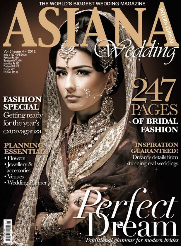 bronze bride asiana Indian wedding fashion, Indian