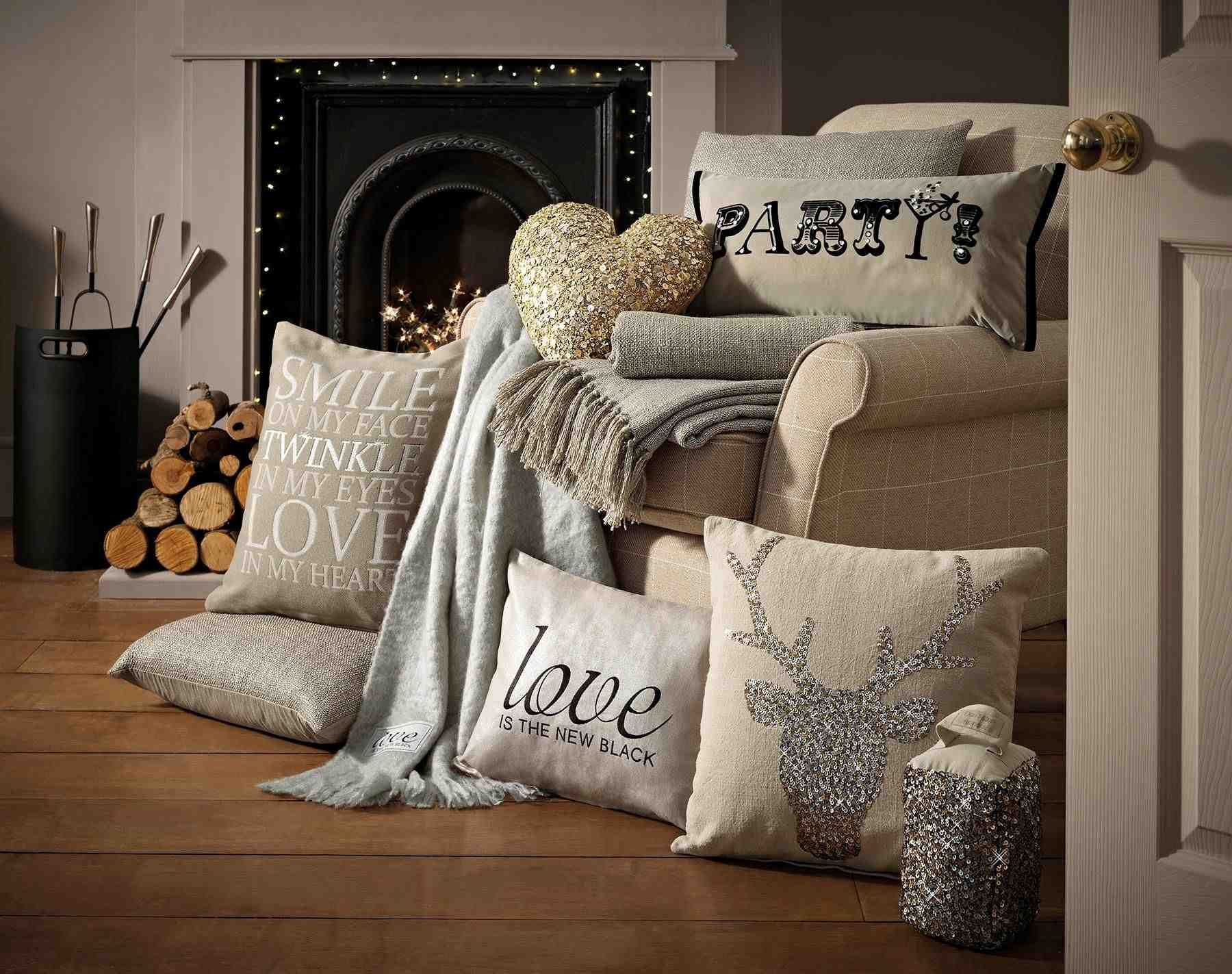 Next Christmas Cushions And Throws