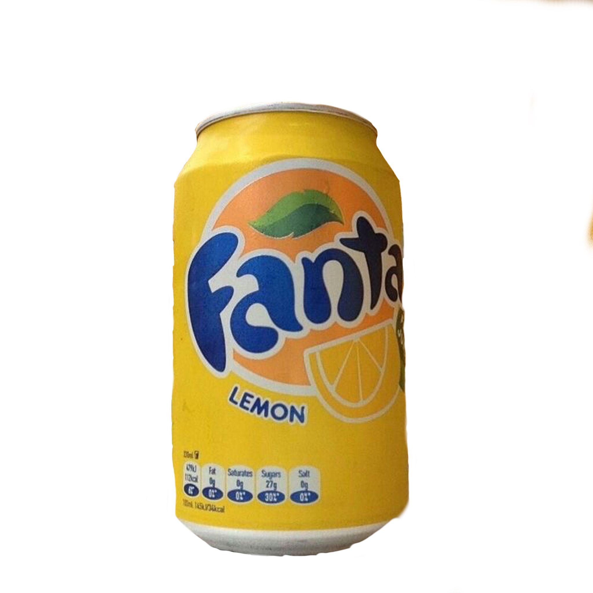 Yellow Blue Soda Fanta Polyvore Moodboard Filler