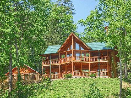 Eagles Rest | 4 Bedroom Cabin Rental | Pigeon Forge and Gatlinburg ...