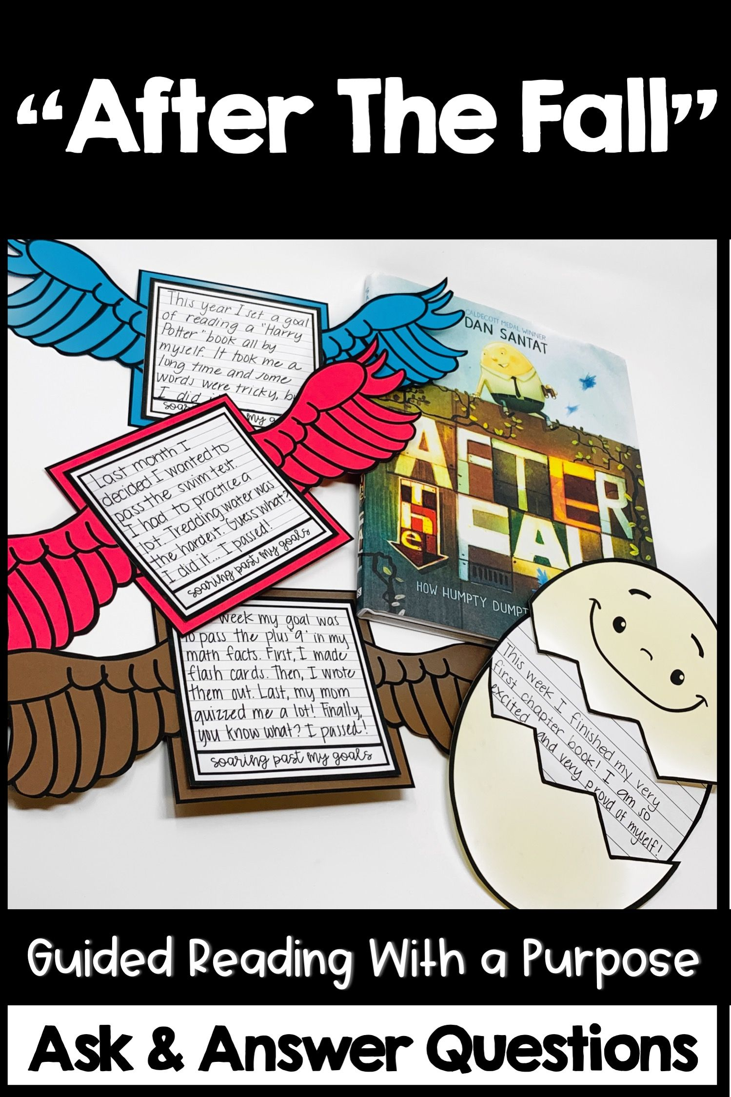 After The Fall Activities Guided Reading Ask And Answer