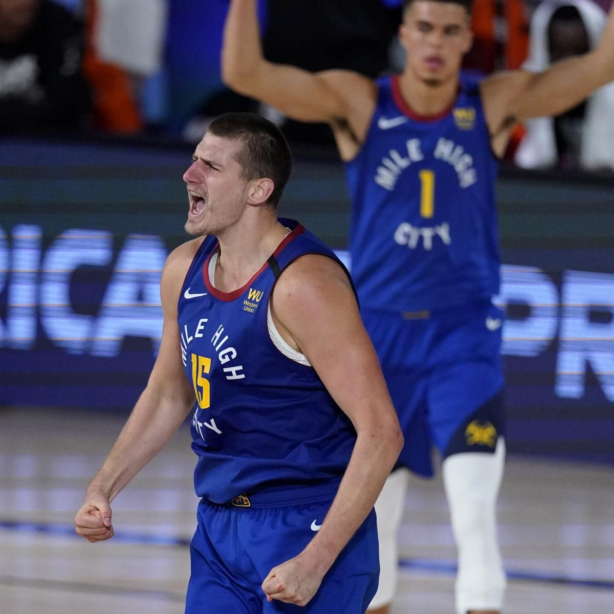 Nikola Jokic Believes Clippers Have All The Pressure In Game 7 Vs Nuggets In 2020 Los Angeles Clippers Denver Nuggets Game 7