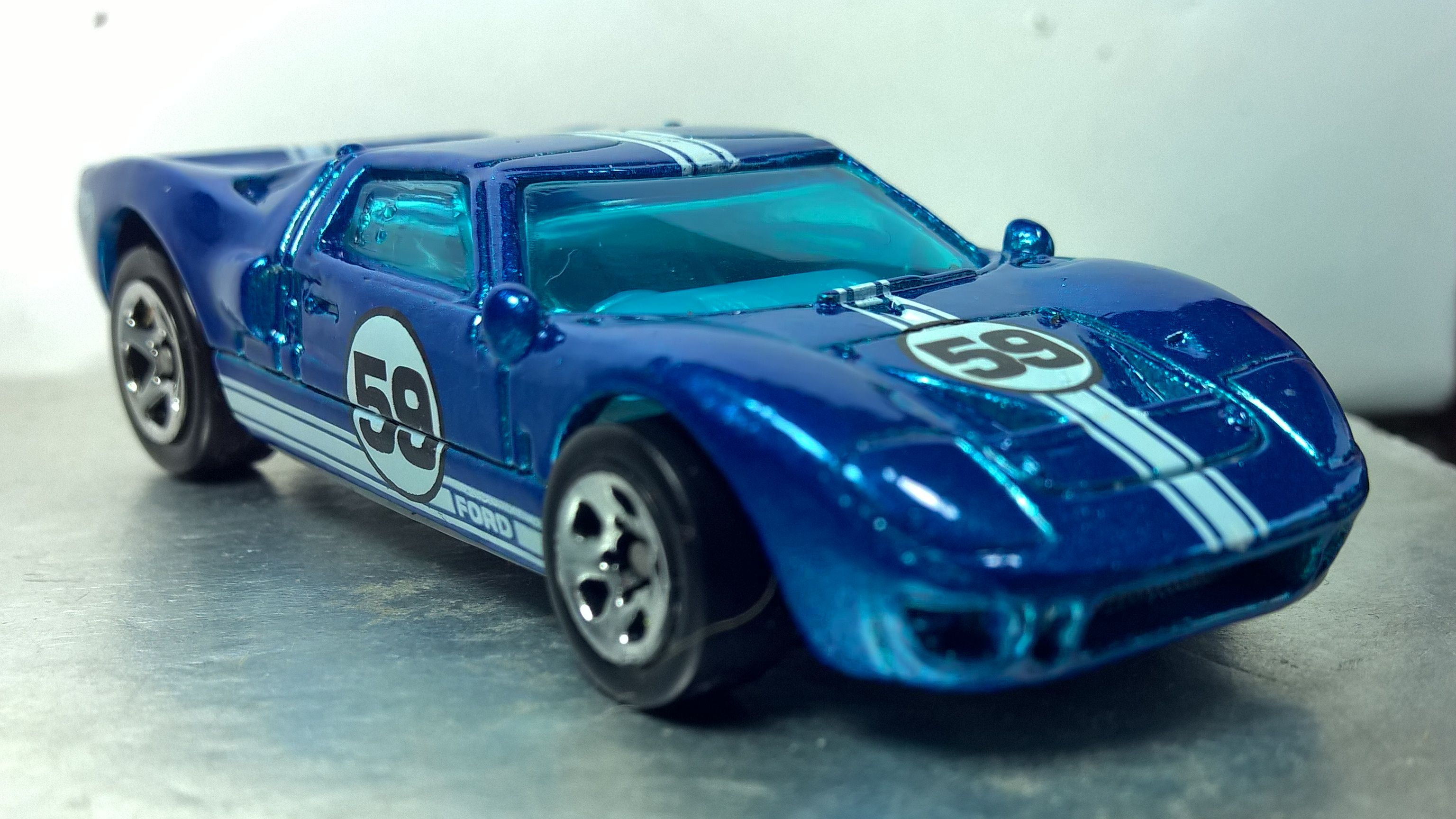 Hot Wheels Ford Gt 40 Collector 921 First Editions 1999