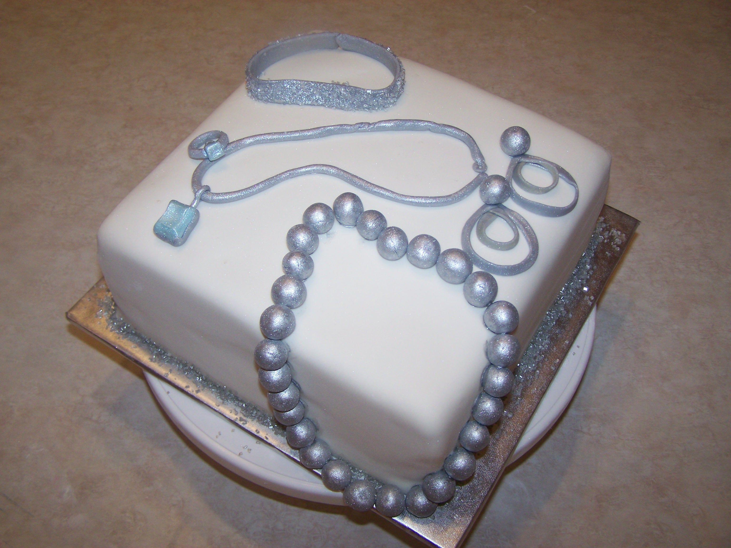 Jewelry Design Cake Jewelry Star