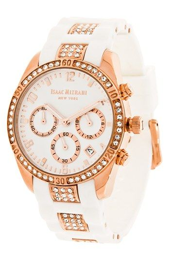 Crystal Accent Chronograph Watch  http://rstyle.me/n/djrm9nyg6