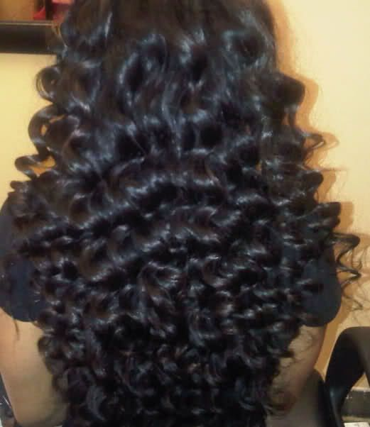 Curls Created With A Curling Wand I Ve Seen This Technique Done Would Like To Try Hair Nails Pinterest Wands And Create