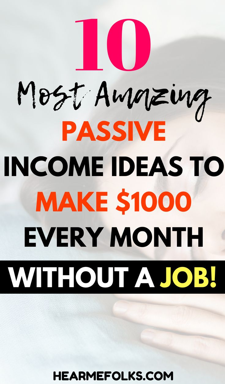 18 Most Lucrative Passive Income Ideas that Actually Work | Passive ...