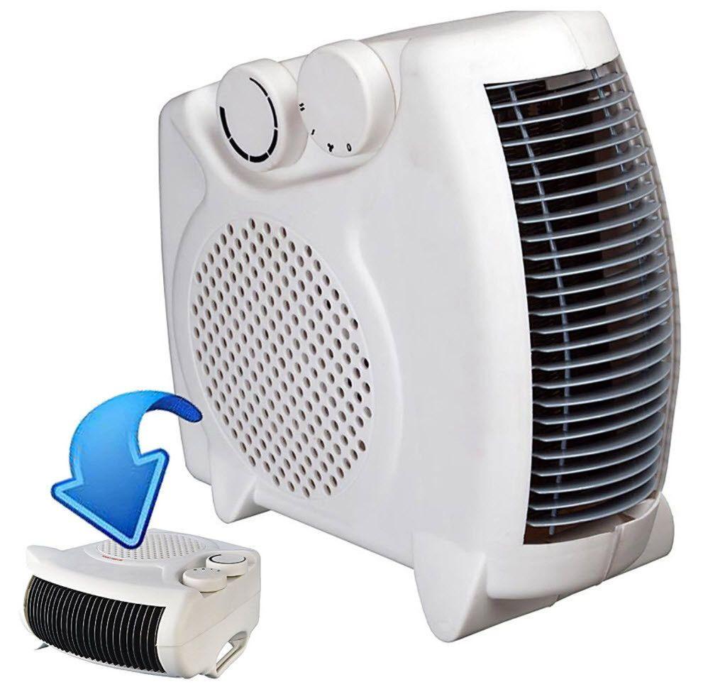 Mini Fan Heater 2000w Desktop Portable Electric Home Office Garage Heating