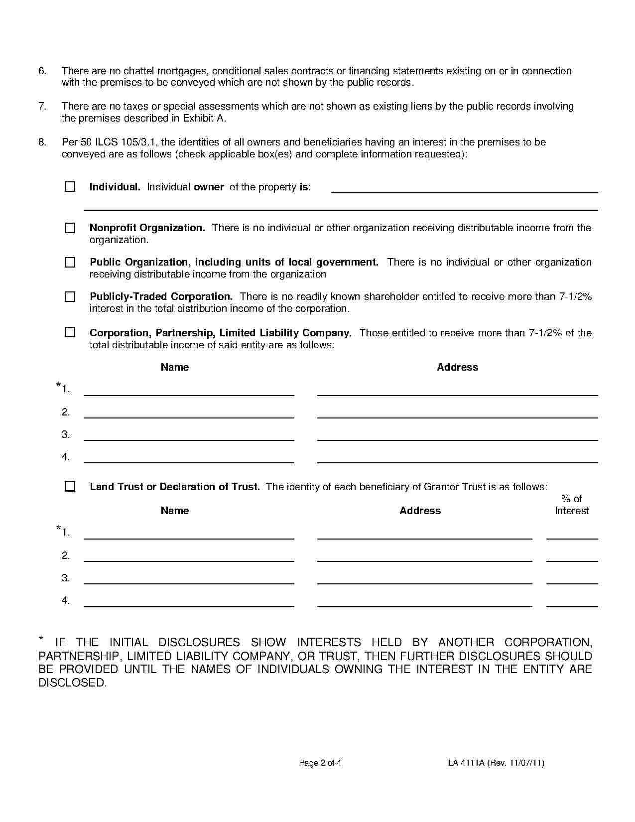 Affidavit Of Title Title Templates Sheet Music