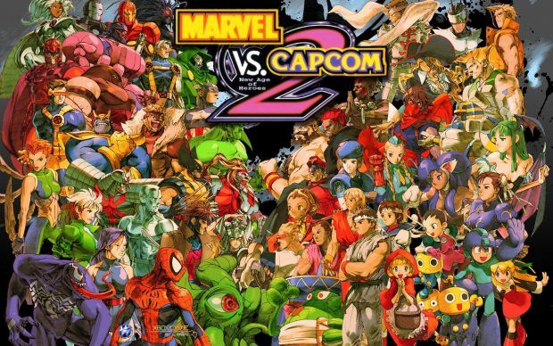 Capcom Wallpaper For Desktop Marvel Vs Capcom Marvel Vs Hero Wallpaper
