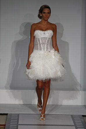Pnina Tornai Short Wedding Dress Short Wedding Dress Wedding