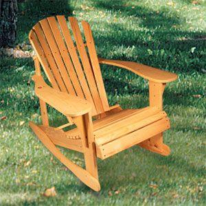 adirondack rocking chair plans - Adirondack Rocking Chair