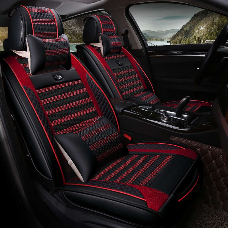 New Car Seat Cover Universal Seat Cushion For Nissan Altima Rouge X Trail Murano Sentra Sylphy Versa Su Sports Car Seat Cover Car Seats Leather Car Seat Covers