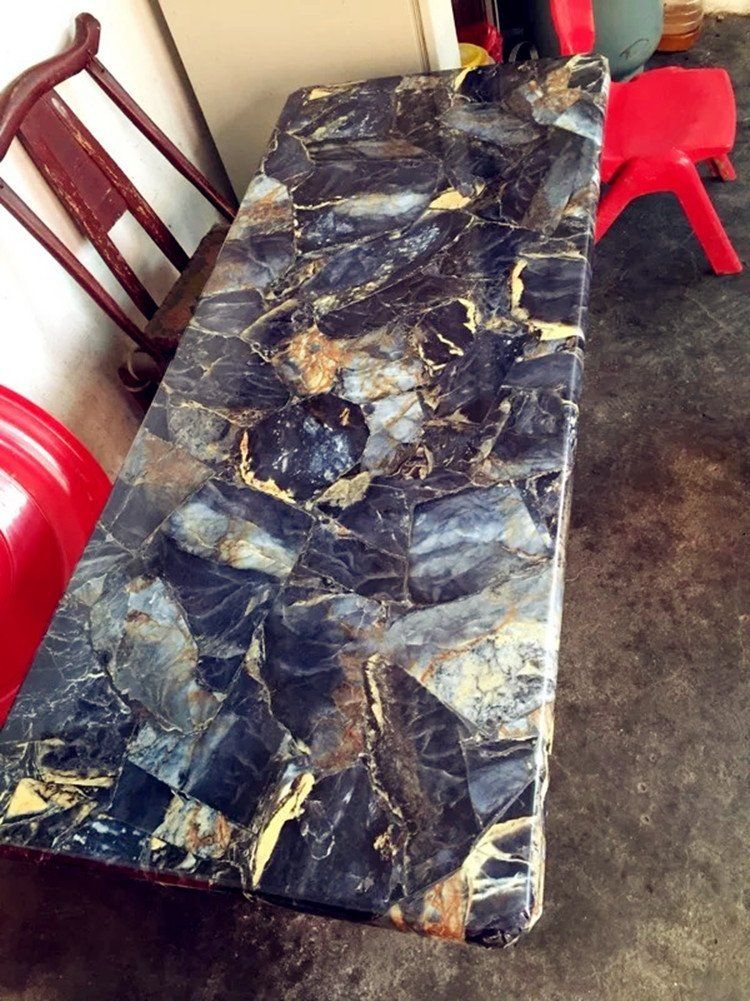 Yancorp Granite Look Marble Effect Counter Top Film Vinyl Self
