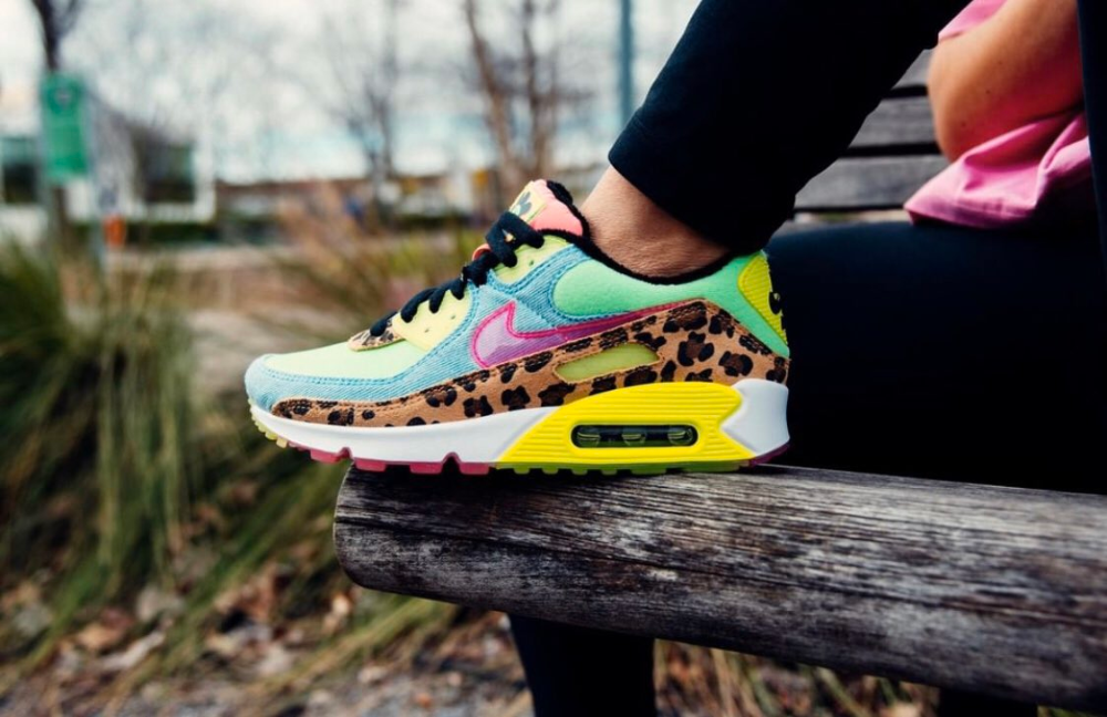 nike air max 90 dames leopard
