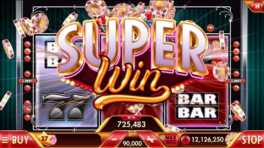 Super Jackpot Slots on Behance Jackpot Slot Game logo
