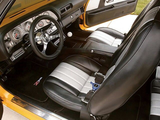 2nd gen camaro interior   Custom Interior   Camaro interior