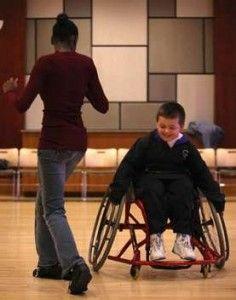 Wheelchair dance!