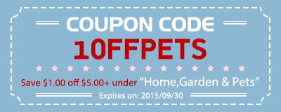 Coupon code:1OFFPETS