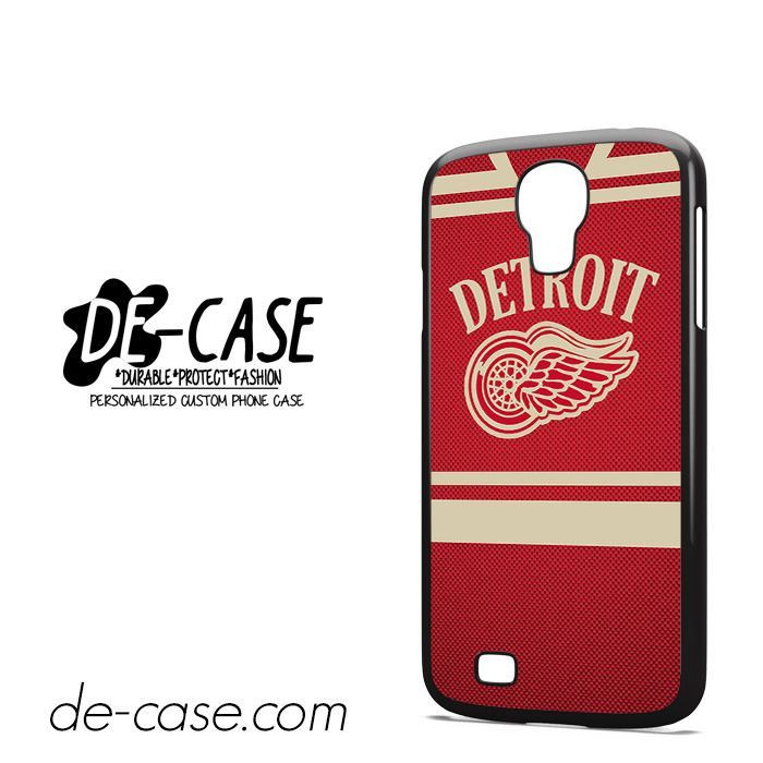 Detroit Hockey Jersey DEAL-3217 Samsung Phonecase Cover For Samsung Galaxy S4 / S4 Mini