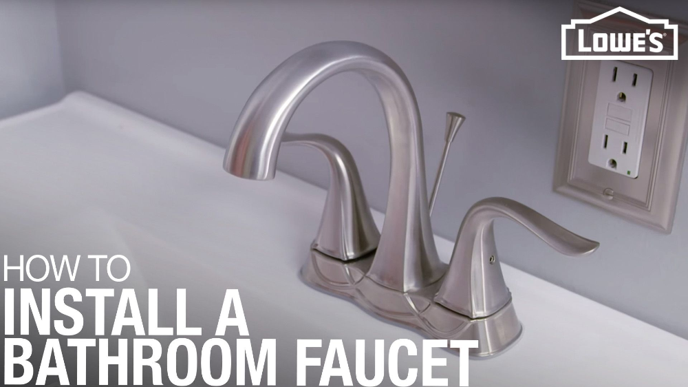 How To Replace A Bathroom Faucet In 2020 Replace Bathroom Faucet Bathroom Faucets Bathroom Sink Faucets
