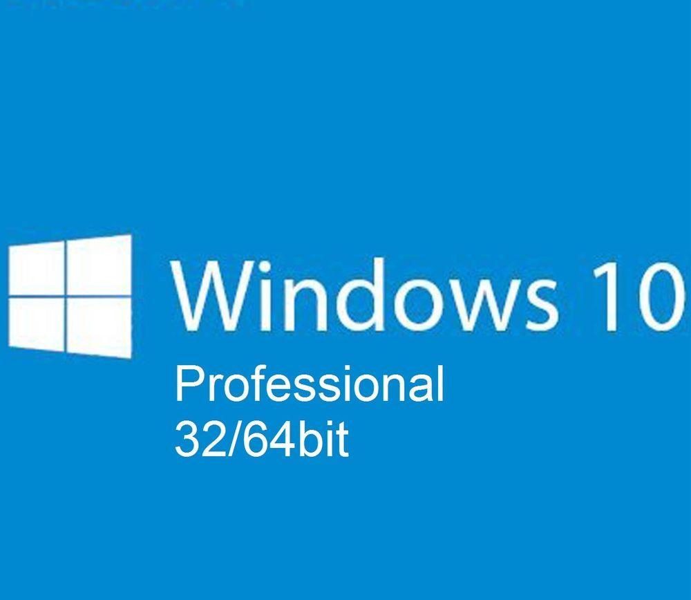 MICROSOFT WINDOWS 10 PROFESSIONAL PRO MULTI-LANGUAGE 3264 BIT KEY LICENZA