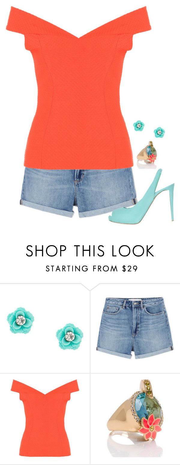 """""""Untitled #132"""" by rosemarylopez-1 ❤ liked on Polyvore featuring Marc by Marc Jacobs, Kate Spade and Le Silla"""