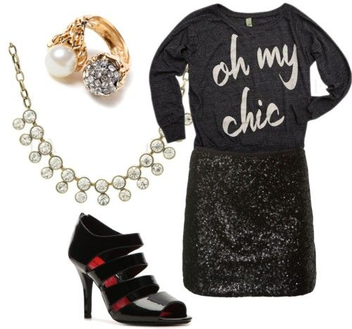Oh my chic!