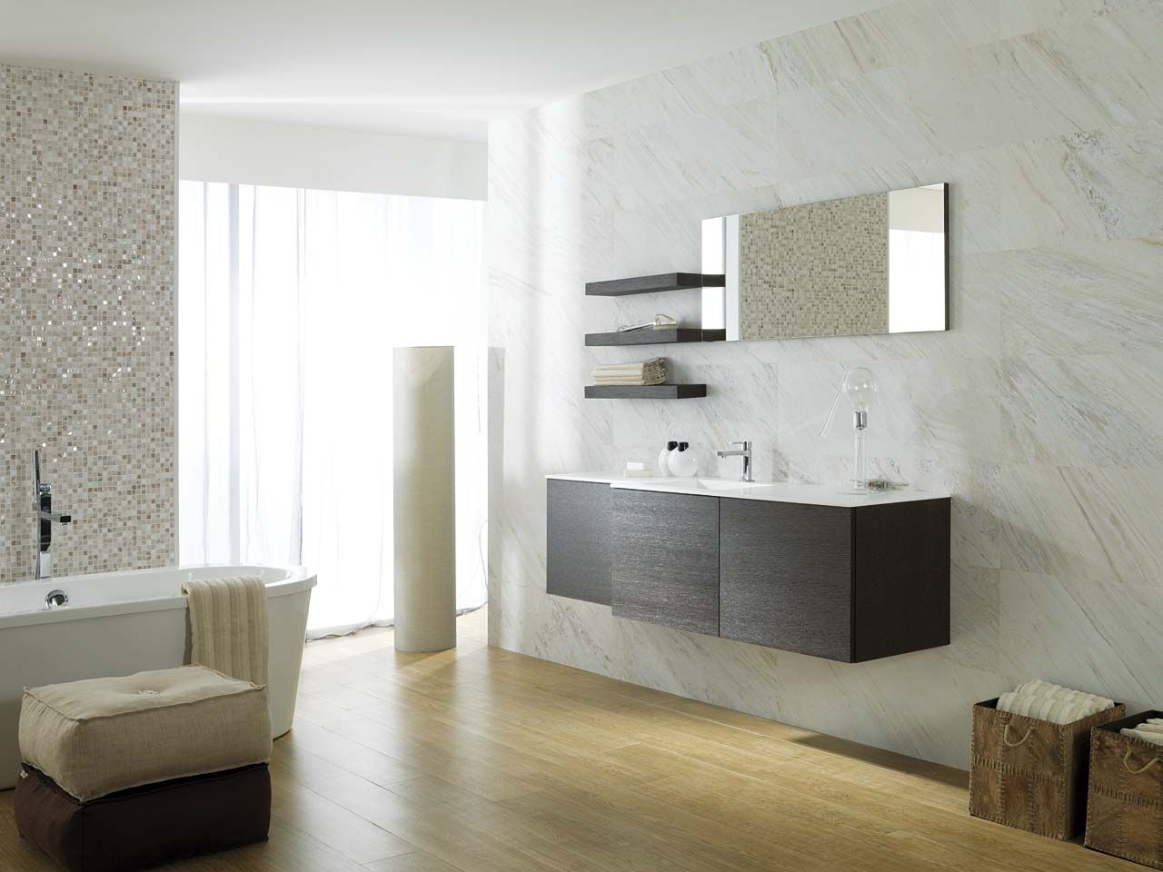 The Porcelanosa Group Has Offered Bathroom Equipment Solutions For  # Mueble Next Porcelanosa
