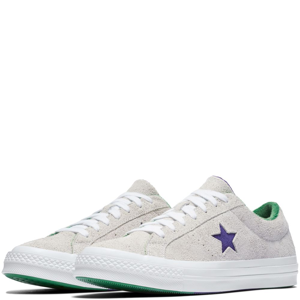 7db0e159f147de One Star Grand Slam White Court Purple Green