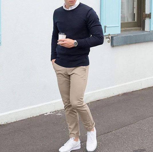 3 Ways To Wear Your Chinos | A Chino Tutorial | Mensdeal
