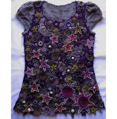 crochet top by Elena Statkevich