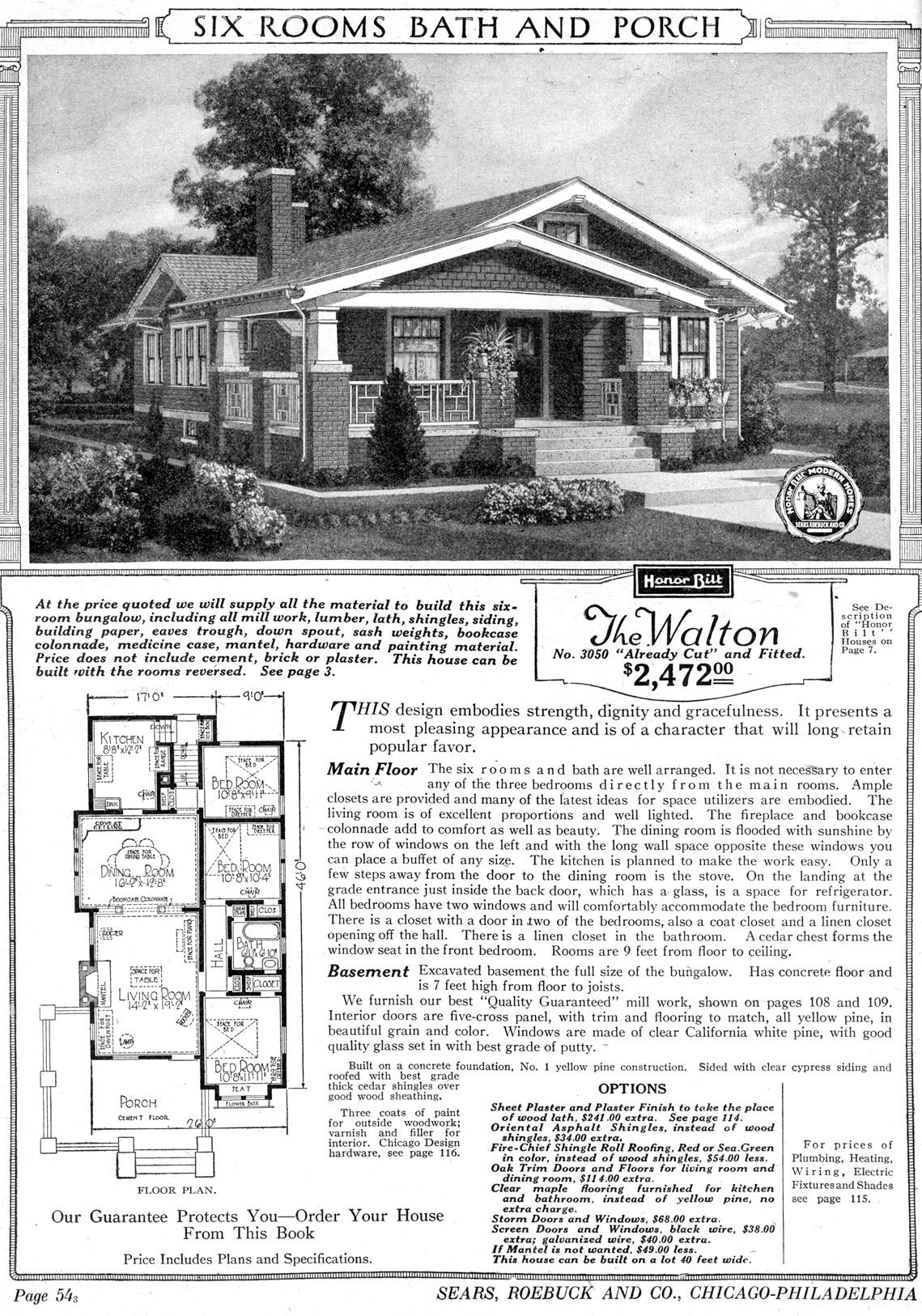 Sears Archives History Craftsman House Plans Bungalow House Plans Craftsman Style Bungalow