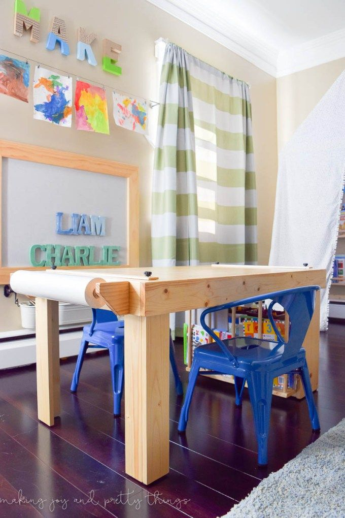 One Room Challenge {Week 6} A Shared Boys Bedroom Reveal PLUS an