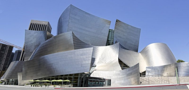 Disney Music Hall I Los Angeles California Frank Gehry Designs Walt Disney Concert Hall Downtown Los Angeles