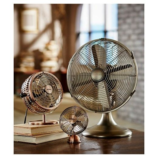 The Holmes® 12 Inch Table Fan Will Provide A Classic, Polished And Timeless  Design