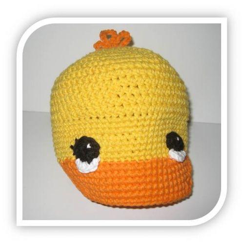 3bc94285d free crocheted duck hat patterns | Seed Stitch Brim Hat | Free ...