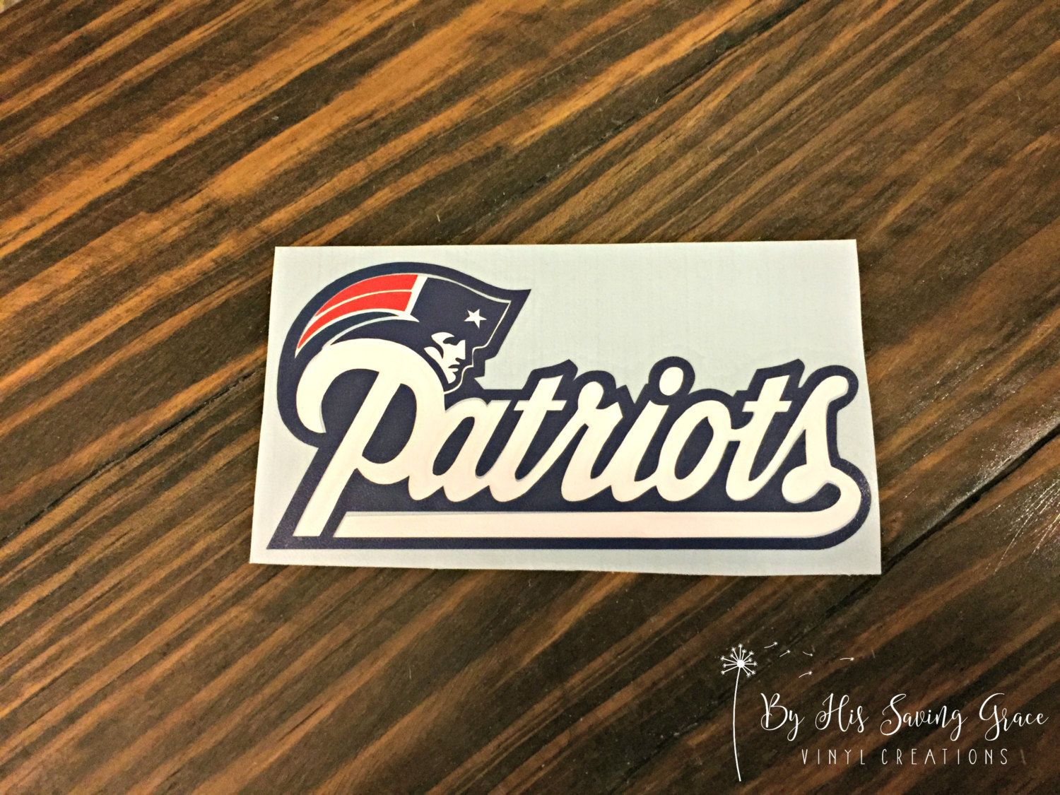 Patriots Vinyl Decal Yeti Decal Car Window Decal Sports - Window decals for sports