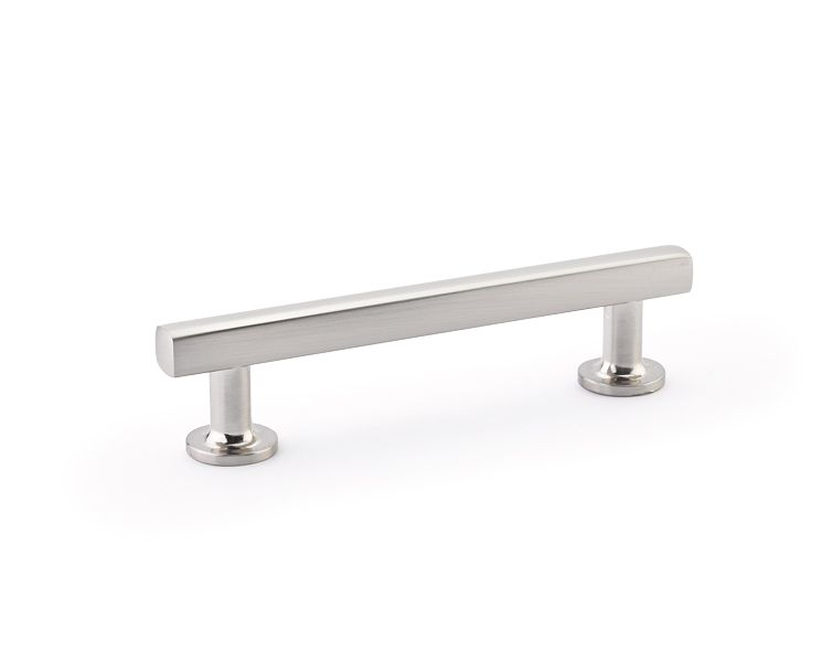 Emtek 86454 Freestone 4 Inch Center To Center Bar Cabinet Pull From The  Urban Mo Satin Nickel Cabinet Hardware Pulls Bar Part 96