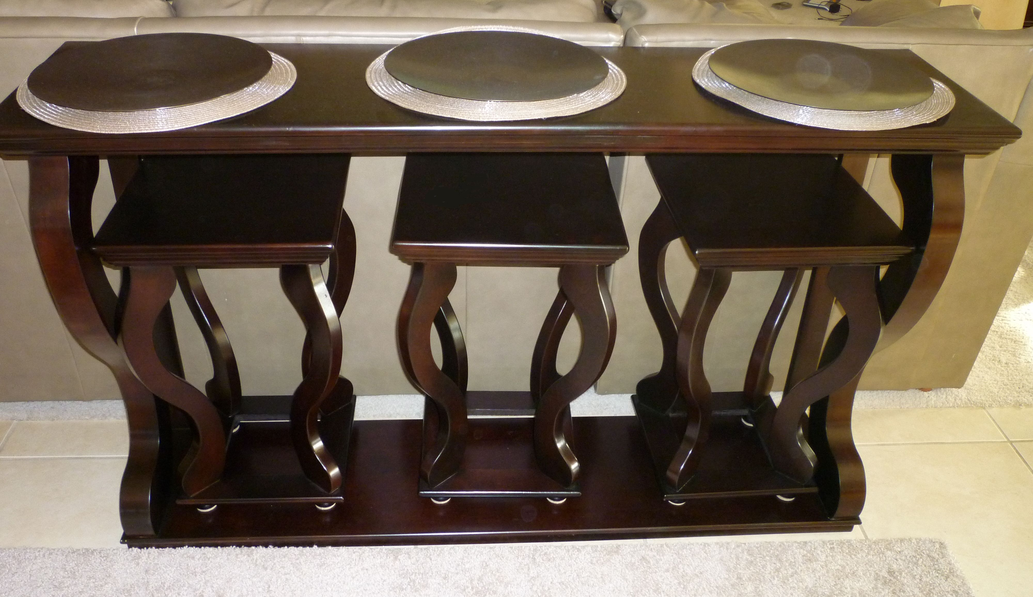 Thrifty Thinking Multipurpose Table Table Behind Couch Sofa Table