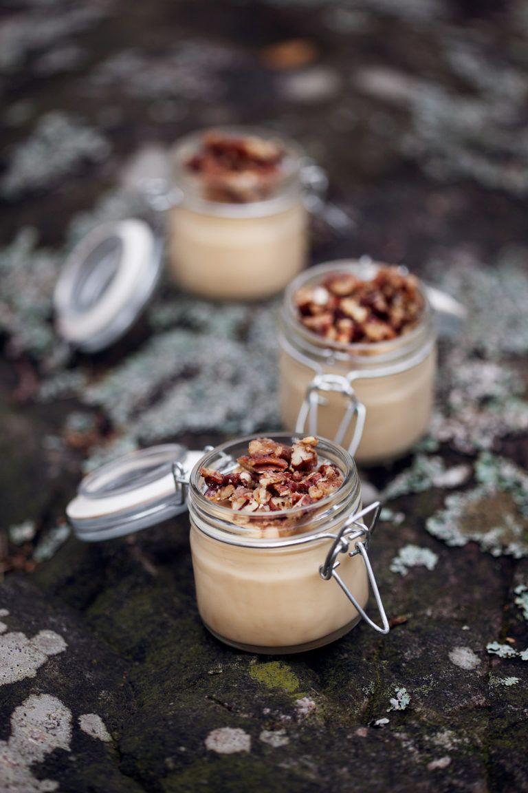 dulce de leche pannacotta