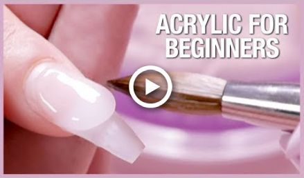 Acrylic Nail Tutorial – How To Apply Acrylic For Beginners #nails | nails art tu…
