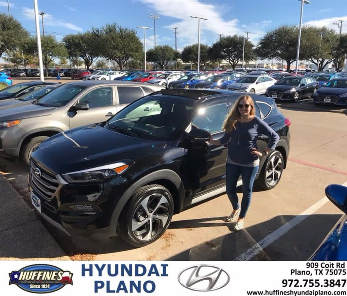 your huffines watch at guy plano car hyundai youtube