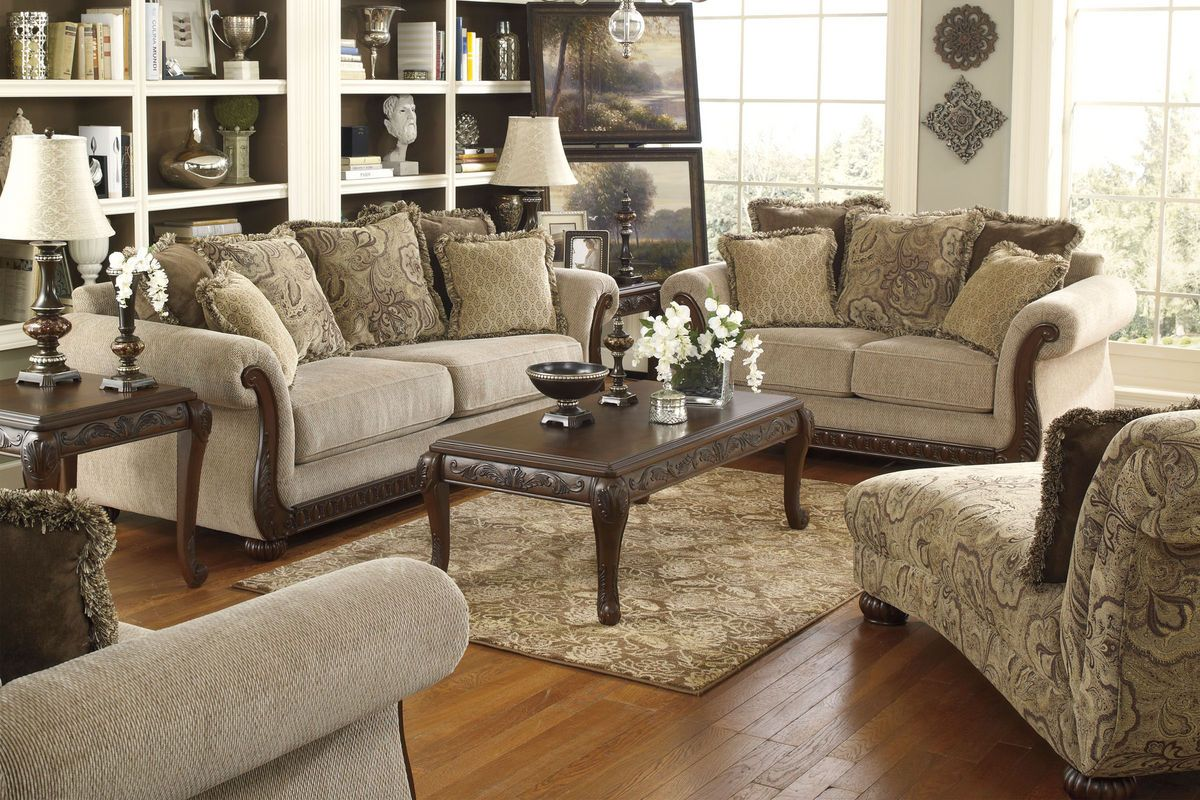 Gracie by ashley from gardner white furniture - Gardner white furniture living room ...