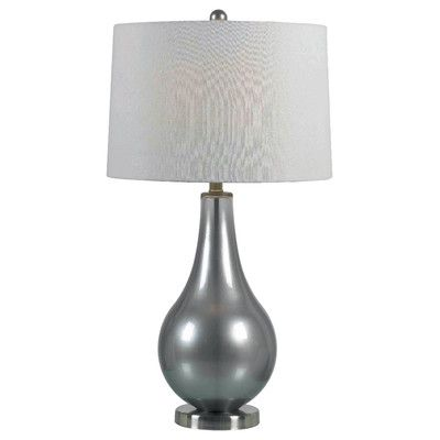 Wildon Home Dover 30 25 H Table Lamp With Drum Shade Reviews Wayfair